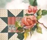 Fabric & Watercolor